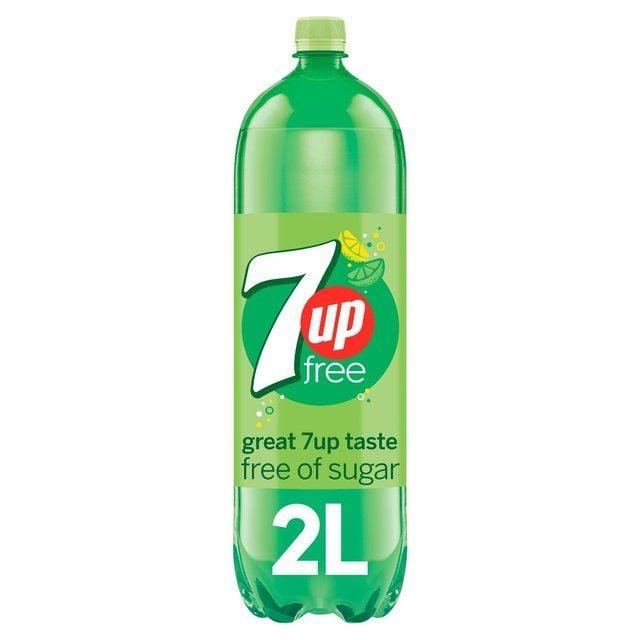 7UP Free Sparkling Lemon & Lime Drink 2L