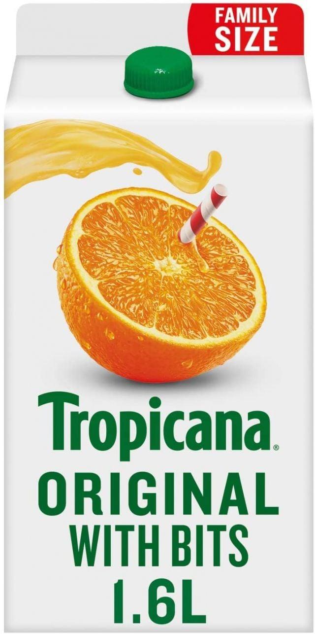 Tropicana Orange Original Juice 1.6 Ltr