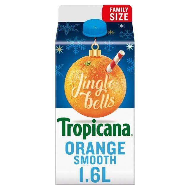 Tropicana Smooth Orange Juice 1.6 Ltr