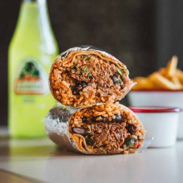 Beef Birria Burrito