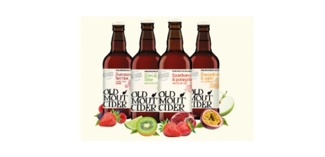 Old Mout Strawberry & Pomegranate Cider
