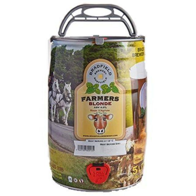 Bradfield - Blonde Mini Keg (5 litres)