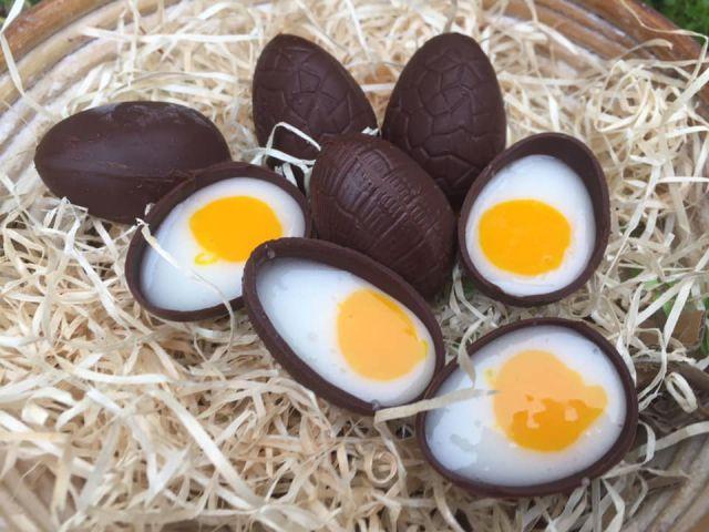 Vegan Cream Eggs (box of 4)