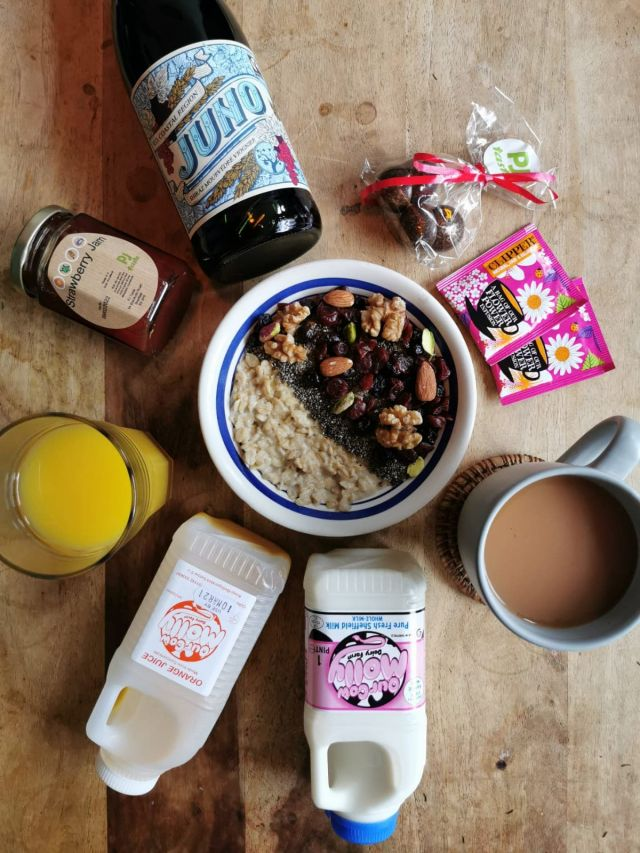 The Health Kick Breakfast (vegan)