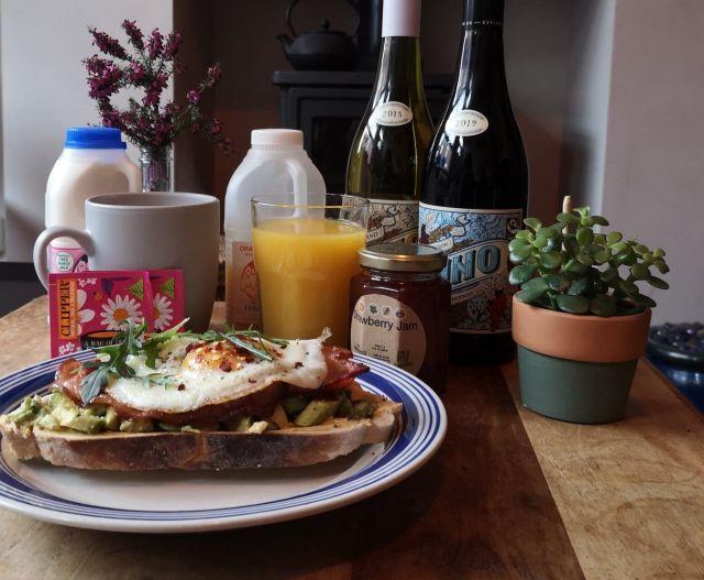 Classic Café Style Breakfast (vegetarian)