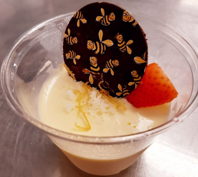 Lemon Posset - Made With Our Cow Molly Fresh Cream