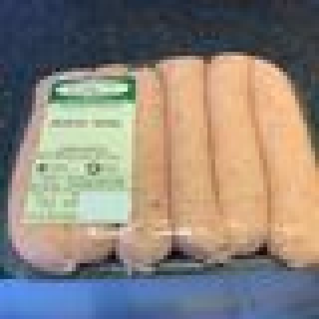 Moss Valley Pork Breakfast Sausages - Pack of 6 - Dispatched Frozen