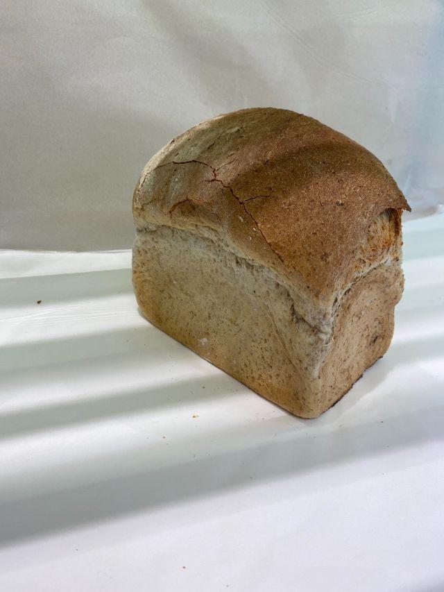 Freshly Baked Large Brown Tin Loaf