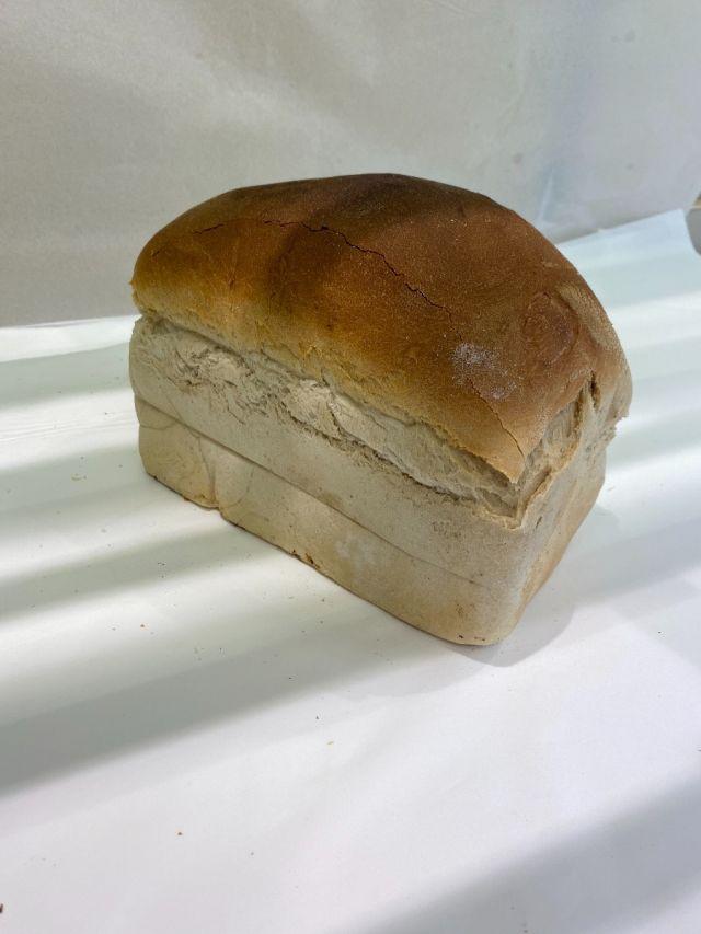 Freshly Baked Large White Tin Loaf