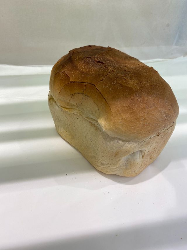 Freshly Baked Small White Farmhouse Loaf