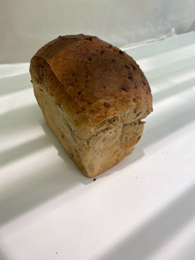 Freshly Baked Small Granary Tin Loaf