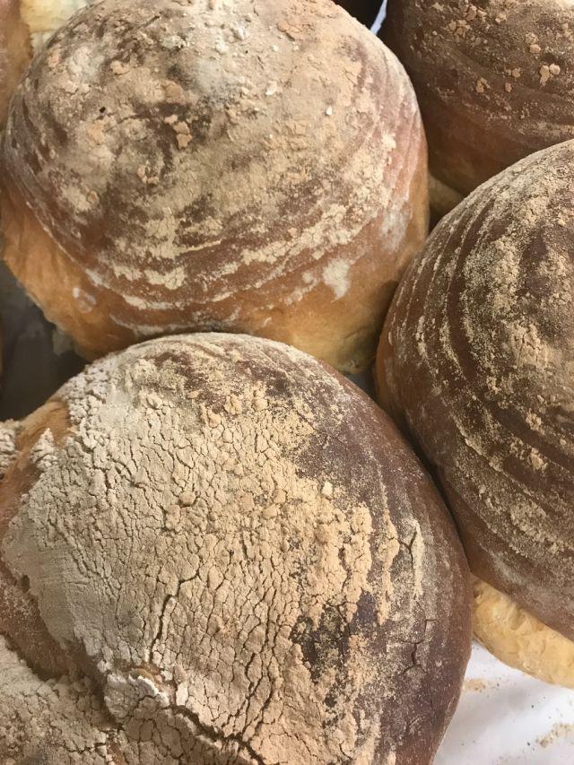 Freshly Baked White Sourdough