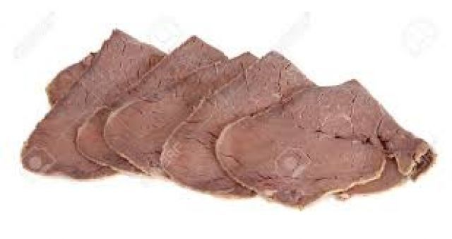 Cooked Sliced Beef (200g)
