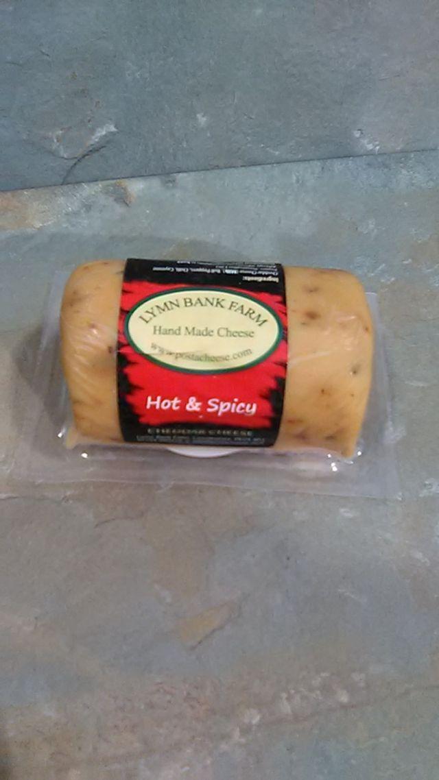 Lymn Bank Hot and Spicy Cheddar (145g)