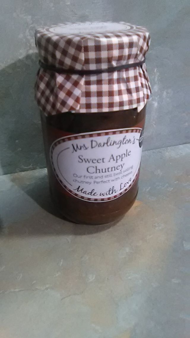 Mrs Darlington's Sweet Apple Chutney (340g)