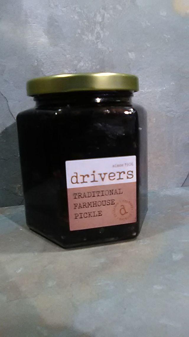 Driver's Deli Range Traditional Farmhouse Pickle 350g