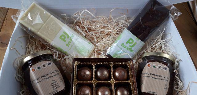 Handmade Chocolate, Preserves and Chutney Treat Box