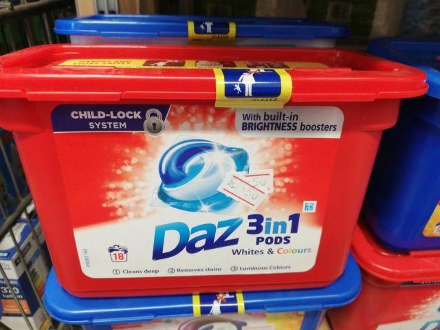 Daz 3 in 1 Biological Laundry Pod
