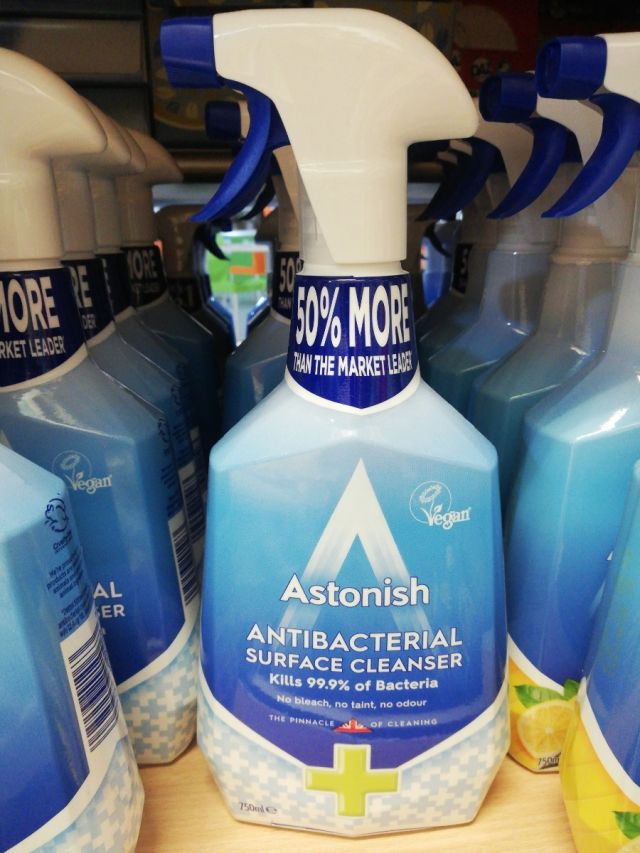 Astonish Antibacterial Surface Cleanser 750ml