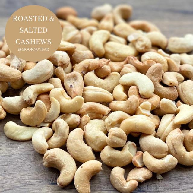 Roasted & Salted cashews 400g
