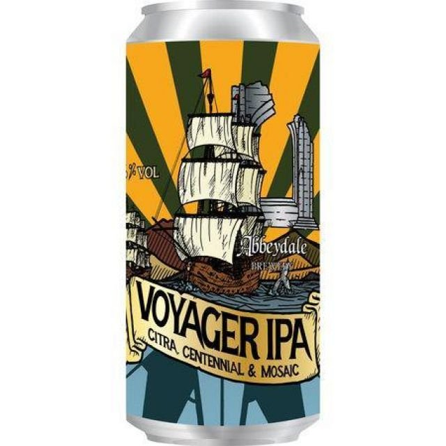 Voyager IPA - Abbeydale Brewery
