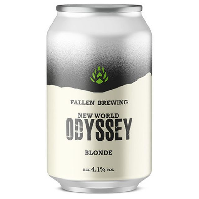 New World Odyssey Blonde - Fallen Brewing