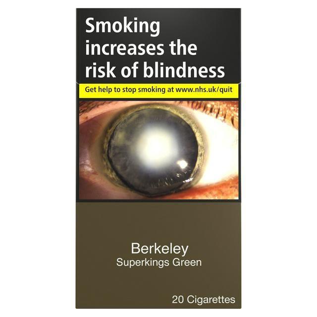 Berkeley Superkings Green (20 cigarettes)