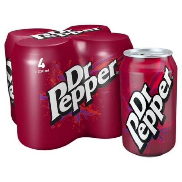 Dr Pepper Multipack 4's