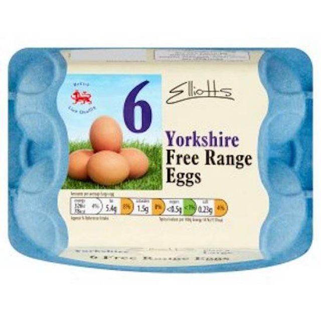 Free Range Eggs 6pack