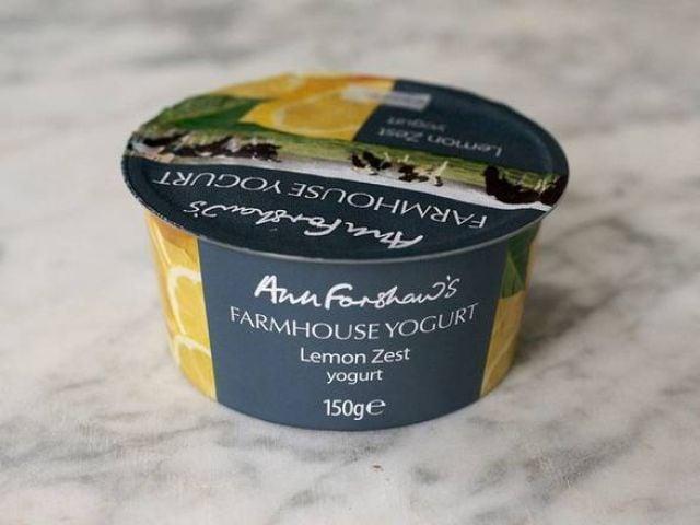 F/Shaw Lemon Zest Yogurt 150g