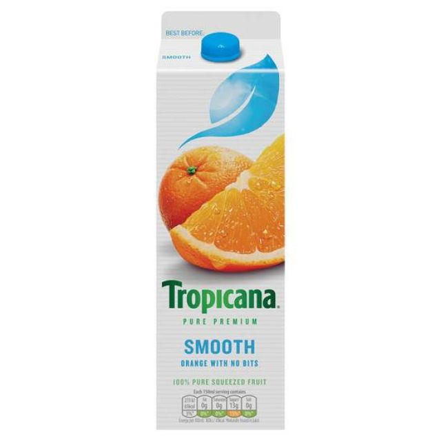 Tropicana Juice Smooth 850 ml