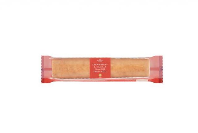 Country Garden Strawberries Swiss Roll 300g