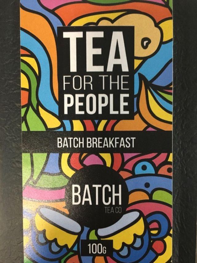 Tea - Batch Blended Breakfast Tea Leaves - 50G