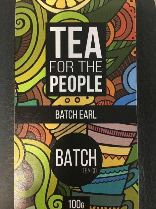 Tea - Batch Fine Earl Grey Tea Leaves - 100G