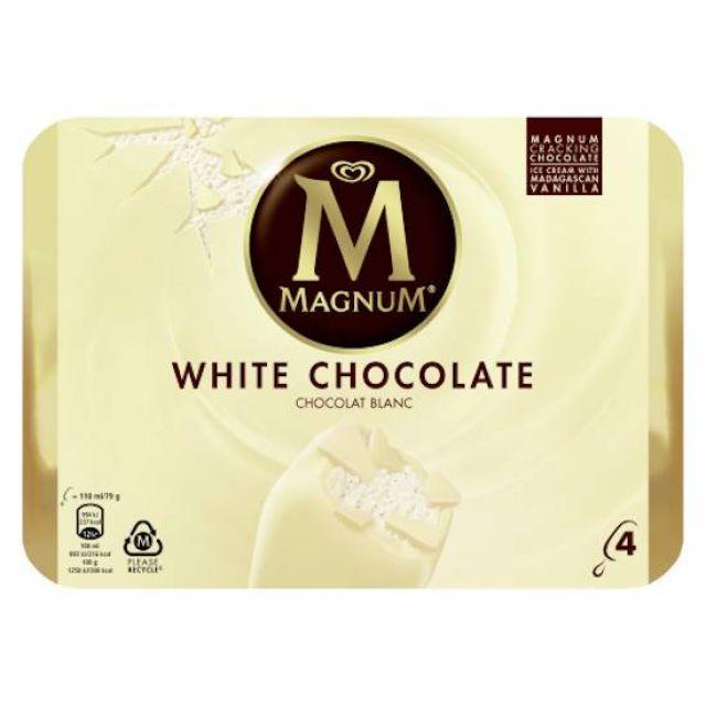Magnum White Multipack 4's