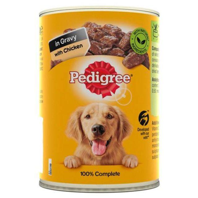 Pedigree Chicken/Gravy 400g