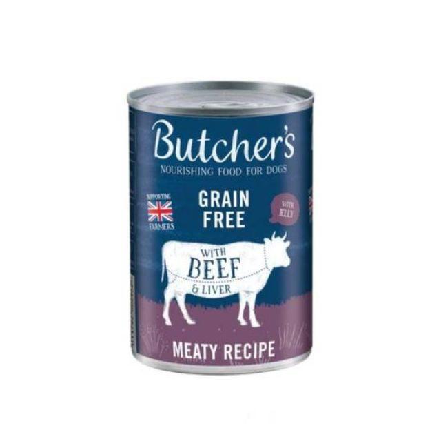 Butcher's CIJ Beef/Liver 400g