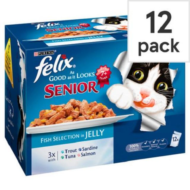 Felix As Good As It Looks Fish 100g 12 Pack