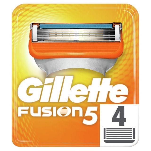 Gillette Blades Fuision 4 Pk