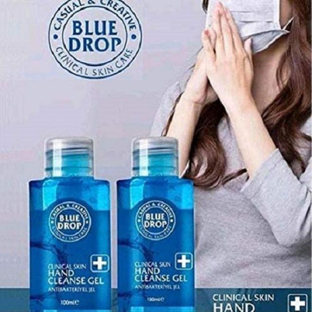 Blue Drop Hand Sanitiser Gel 100ml