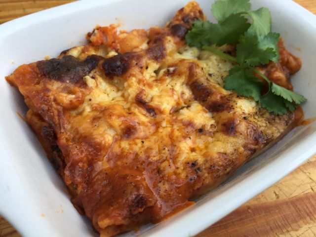 Roasted Vegetable And Mixed Bean Lasagne (V) - Delivered Frozen For Reheating