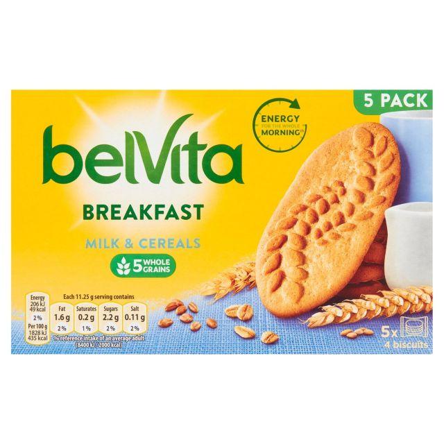 Belvita Breakfast Milk & Cereal 5 Pack