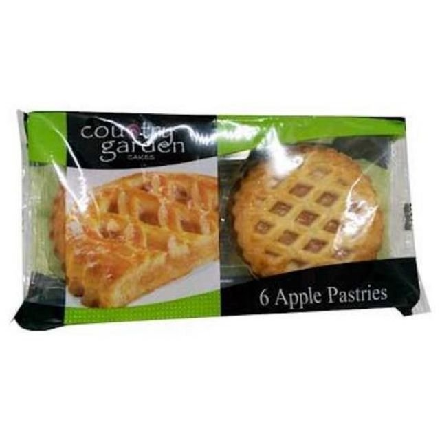 Country Garden Apple Pastries 6 Pack