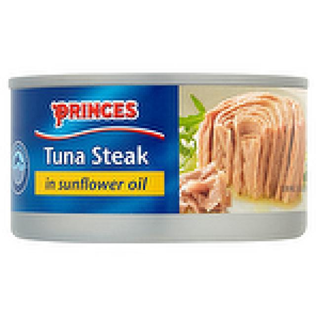 Princess  Tuna Steak in Sunflower Oil 185g