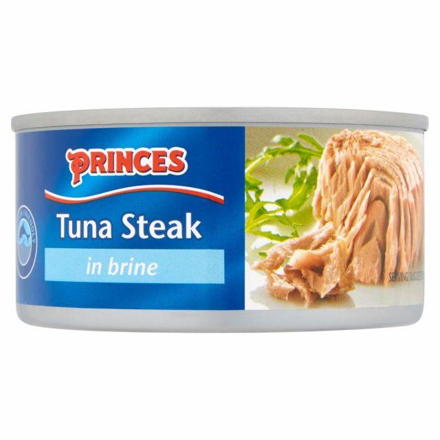 Princess  Tuna Stake in Brine 185g