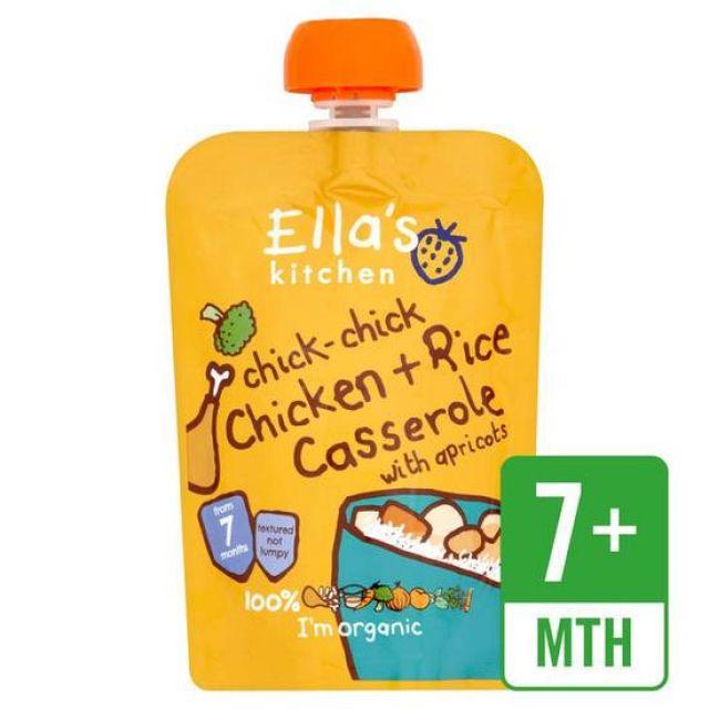 Ella's Kitchen Chicken Casserole with rice 130g