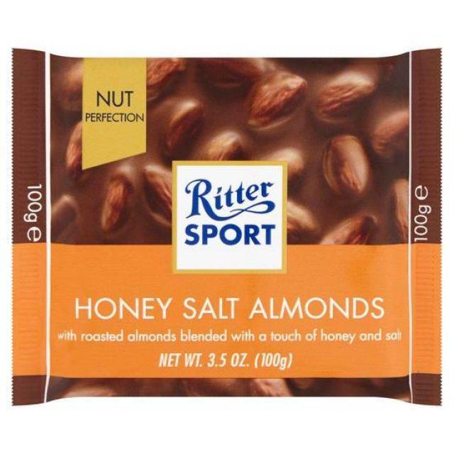 Ritter Sport Honey Salt Almonds 100g
