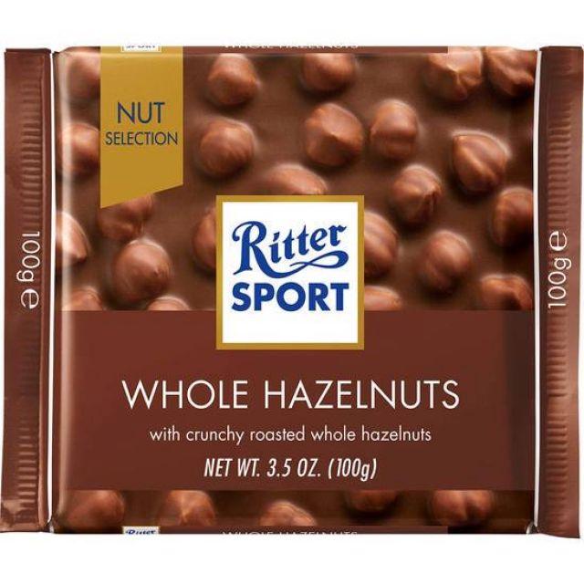 Ritter Sport Whole Hazelnuts 100g