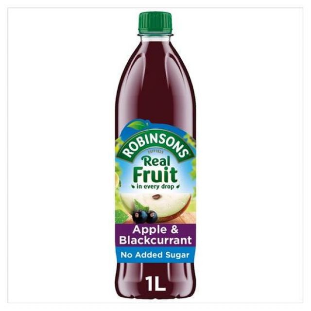 Robinsons Apple & Blackcurrent 1 Liter