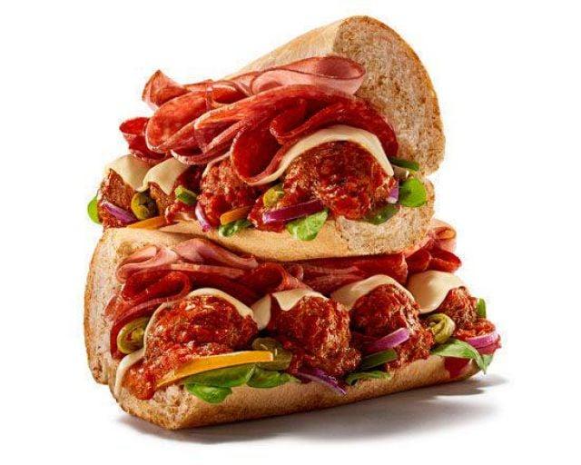 "6"" Mega Meat Sub"